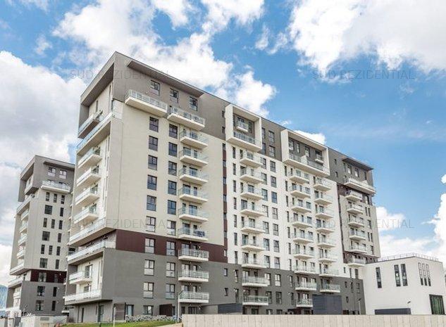 Apartament 2 camere,CURTE 29mp, Disponibil Imediat, Barbu Vacarescu,Mobexpert - imaginea 1
