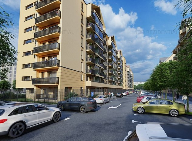 Apartament 2 camere decomandat, Apollo Berceni Leonida, 67mp utili - imaginea 1