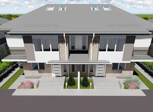 Vila tip Duplex , Bld Metalurgiei adiacent - imaginea 1