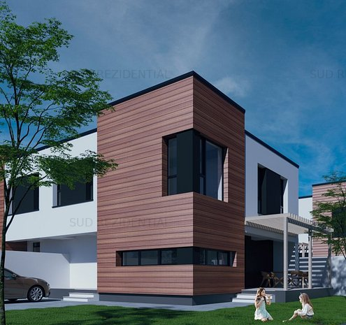 Vila, Ansamblu Rezidential, Comuna Berceni - imaginea 1