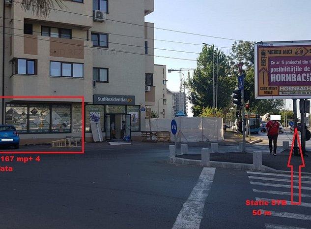 Spatiu 167 mp, stradal, bulevard, Metalurgiei - imaginea 1