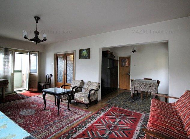 Apartament 3 camere decomandat 90mp - ideal locuinta/cabinet – accept credit - imaginea 1