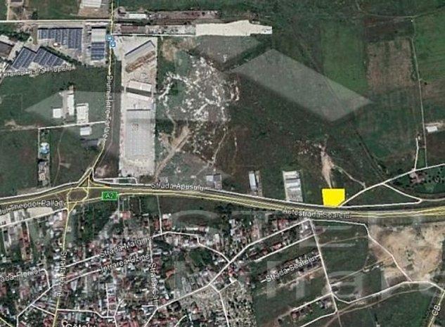 Theodor Pallady - Drumul intre Tarlale 4.800mp cu PUZ in lucru  - imaginea 1