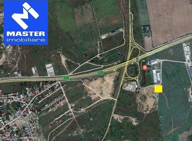 Soseaua de Centura-Autostrada Soarelui - Manolache PUZ cu doua hale 1.590mp - imaginea 1