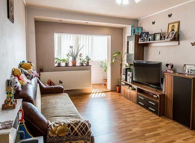 Apartament 3 camere de vanzare | Piata Delfinului | Chisinau - imaginea 1