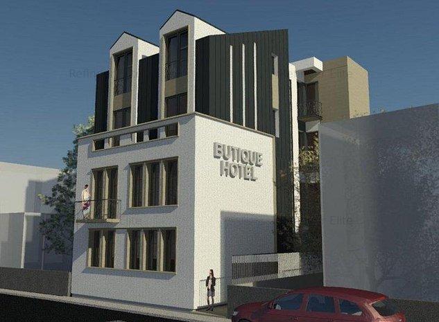 Vanzare imobil cu proiect Hotel Boutique Dorobanti - ASE - imaginea 1