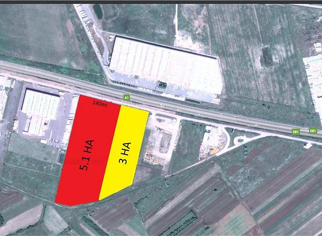 Vanzare teren A1 - CT Park Bolintin Deal - imaginea 1