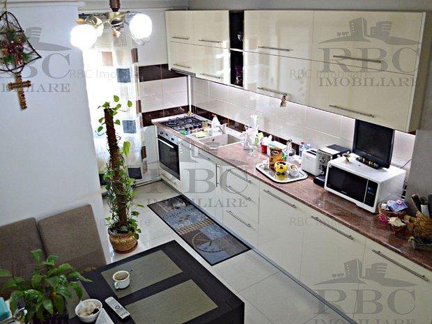Apartament 3 camere Titulescu cartier Gheorgheni - imaginea 1