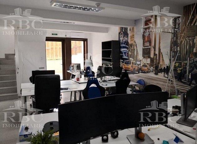Spatiu birou 150 mp la vila cu 2 parcari Grigorescu - imaginea 1
