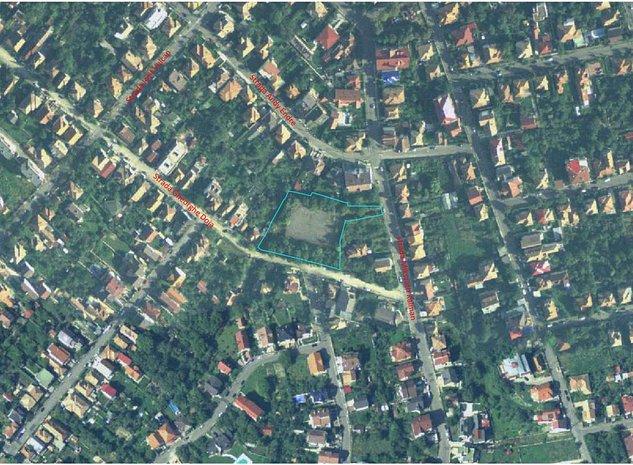 Teren 4665 mp in Andrei Muresanu, incadrat in LIU - imaginea 1