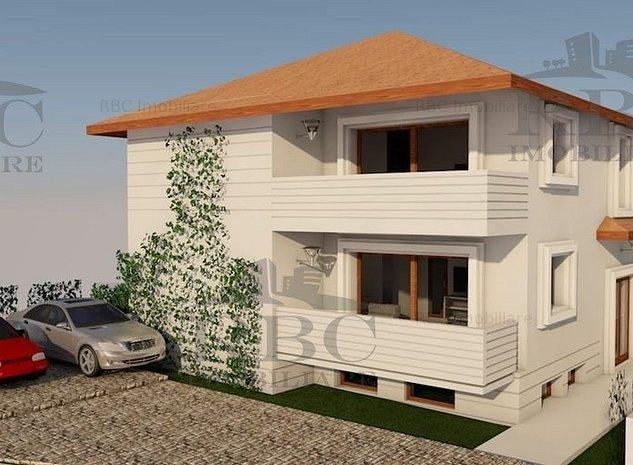 Teren cu autorizatie de constructie casa unifamiliala cu 2 apartamente in Iris - imaginea 1