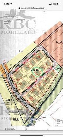 Parcele de teren 365 mp cu PUZ in Borhanci, zona Romul Ladea - imaginea 1