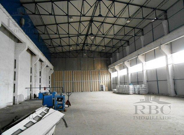 Hala industriala cu frig 1129 mp si birouri 153 mp - imaginea 1