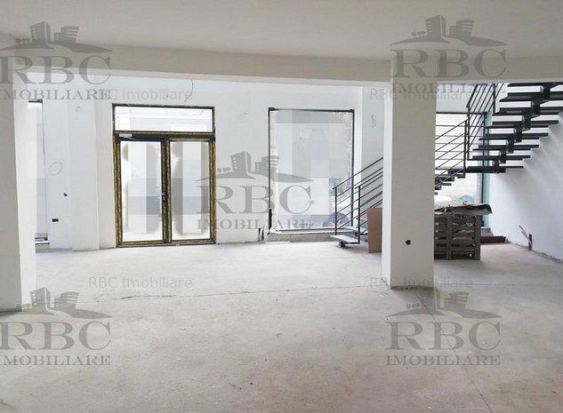 Chirie spatiu comercial 260 mp cu vitrina si parcari constructie noua Central - imaginea 1