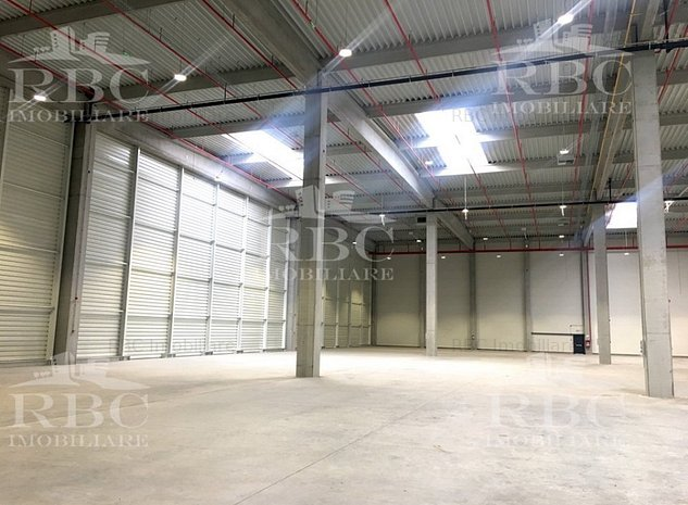Comision 0% - Hala industriala 800 mp + 30 mp birouri la cheie in parc logistic  - imaginea 1