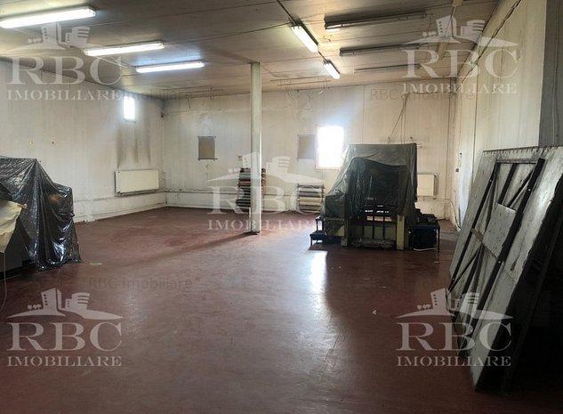 Hala industriala cu birouri si teren 2000 mp Iris - imaginea 1