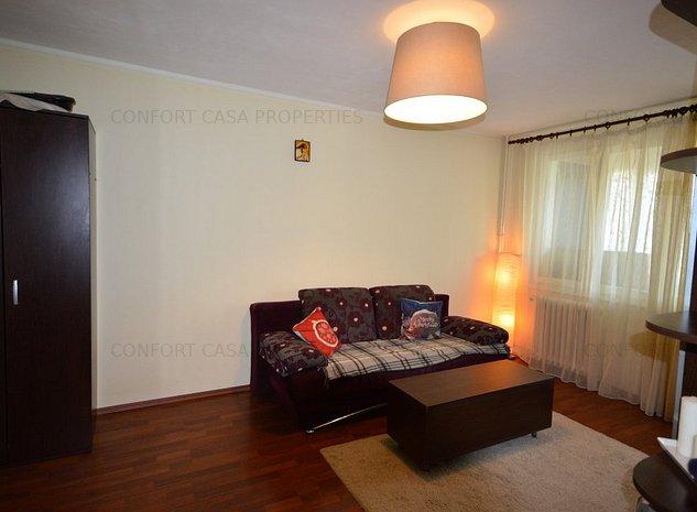 Lacul Tei, apartament 2 camere, mobilat si utilat modern, vedere fata - imaginea 1