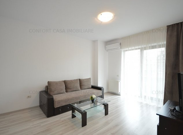 Mihai Bravu metrou - apartament 2 camere modern, bloc nou, centrala proprie - imaginea 1
