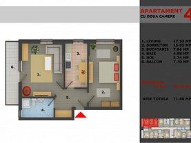 Apartament de vânzare 2 camere, în Bucuresti, zona Andronache