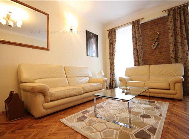 Apartament cu 3 camere str. Muresenilor - pretabil regim hotelier / home office - imaginea 1