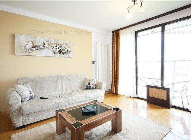 Apartament modern cu 2 camere de inchiriat in centrul Brasovului - imaginea 1