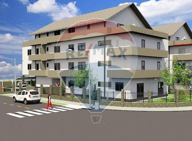 Apartament spatios cu 2 camere+terasa de 54 mp Villa Hamburg Tractorul - imaginea 1