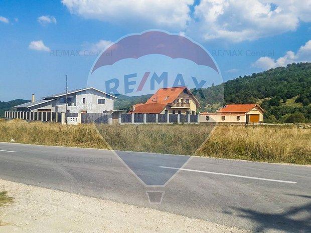 Comision 0% Teren Rasnov - Glajerie, 3222 mp, la strada principala - imaginea 1