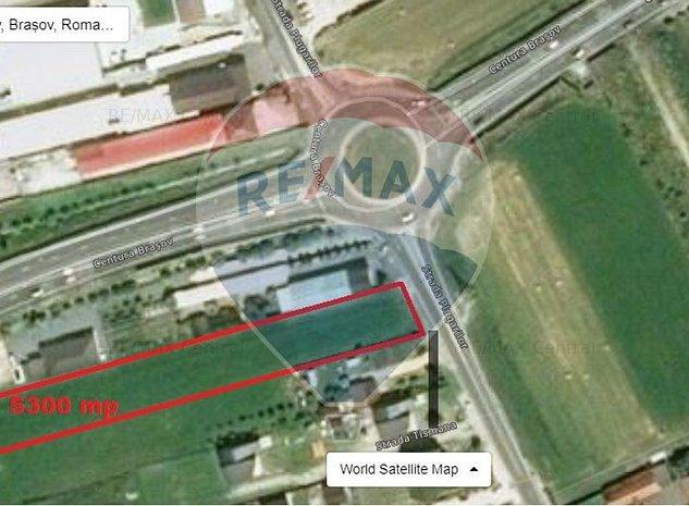 Teren 5,300mp Brasov / Strada Plugarilor - imaginea 1