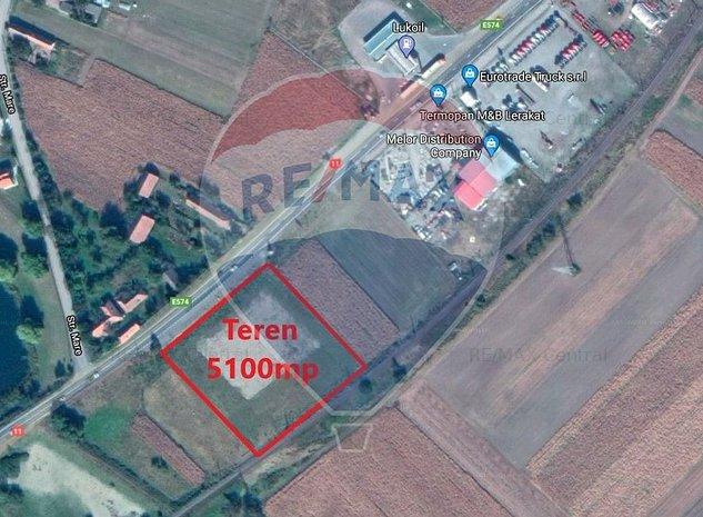 Teren intravilan 5100mp, deschidere la DN 11, la 13,4km de Brasov - imaginea 1