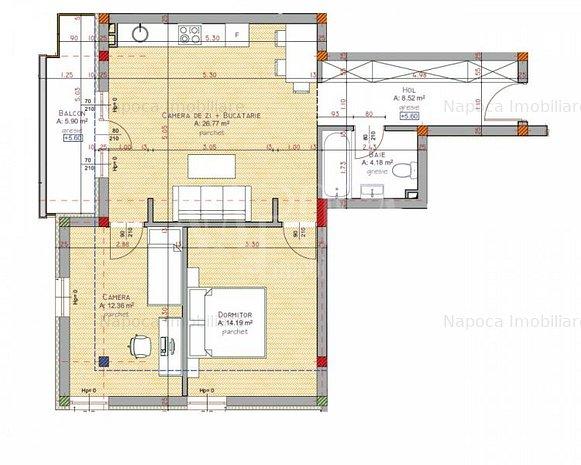 Apartament 3 camere de vanzare in Iris, Cluj Napoca - imaginea 1