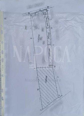 Teren intravilan pentru constructii de vanzare in Iris, Cluj Napoca - imaginea 1