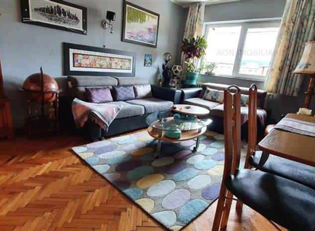 Apartament 3 camere, 70mp, cu Balcon - imaginea 1