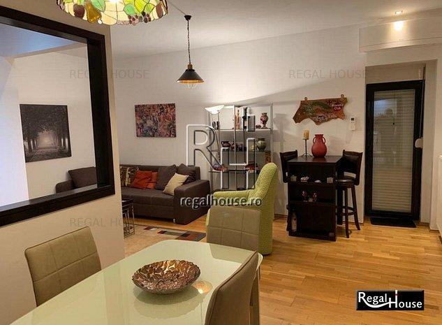 Baneasa - Natura Residence, apartament 3 camere mobilat - imaginea 1
