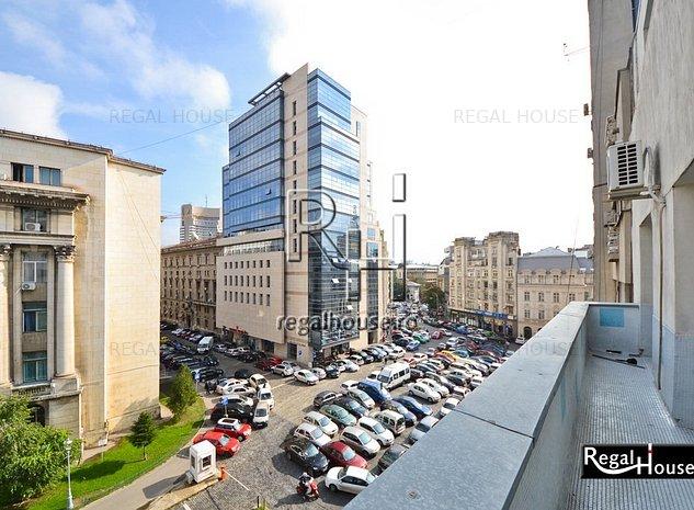 P-ta Revolutiei - Calea Victoriei, apartament 4 camere mobilat - imaginea 1