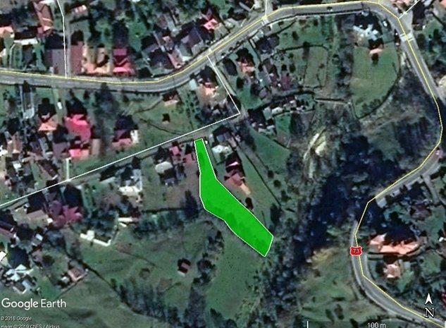 Com. Dambovicioara - Podu Dambovitei, teren 1723 mp - imaginea 1