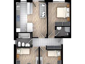 Apartament de vânzare 4 camere în Iasi, Tatarasi