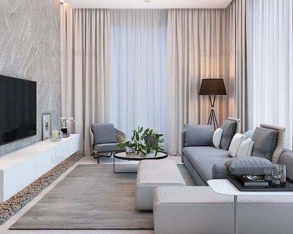 Apartament nou, 1 camera, 37 mp, 33500Euro, Bucium - imaginea 1
