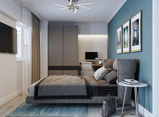 Apartament cu o camera,49.8mp, Copou, 49800 euro - imaginea 1