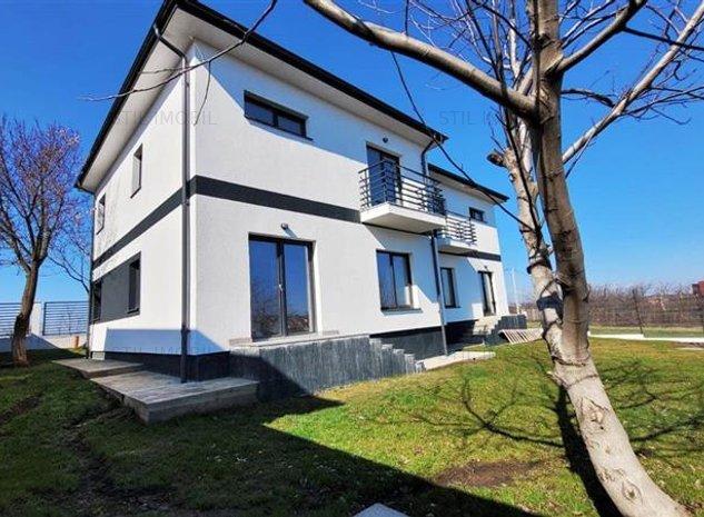 Vila 4 camere Miroslava la asfalt 2020 finalizata 90800 euro - imaginea 1