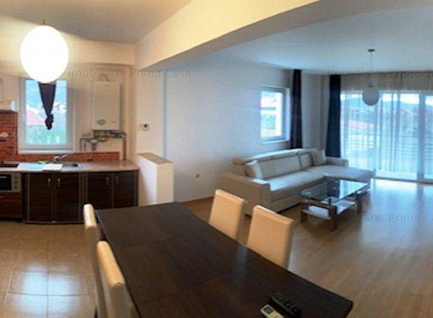 In bloc nou! apartament 3 camere decomandat mobilat si utilat, 350E/luna - imaginea 1