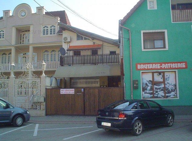 Vand casa P+M cu2 corpuri si spalatorie auto,central,Str Racovitei - imaginea 1