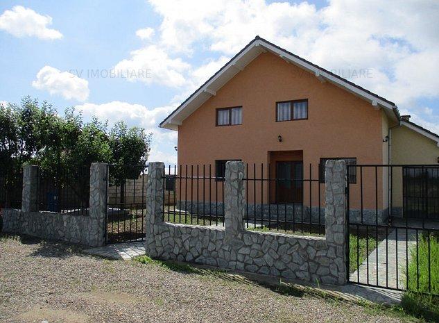 Vand Casa P+M Si Teren De 500 Mp.Zona Caransebesul Nou,Str Godeanu,Caransebes. - imaginea 1