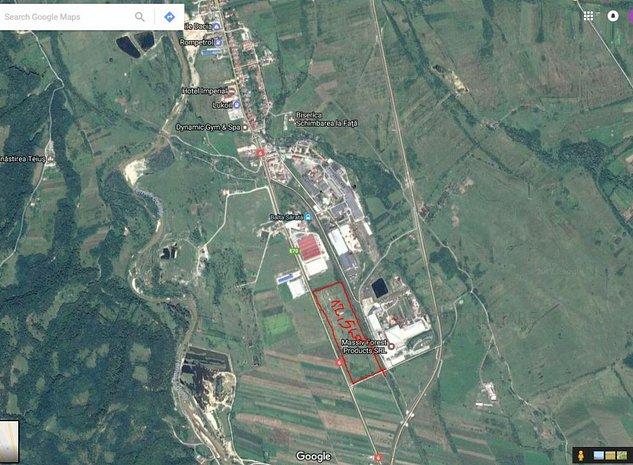 Vand 12,5 Ha teren intravilan in Caransebes,Zona Industriala Balta Sarata - imaginea 1