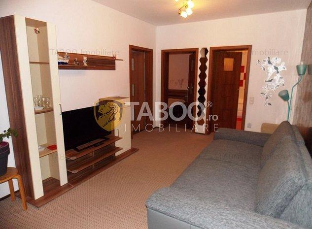 Apartament 3 camere de inchiriat in Sibiu zona Rahovei - imaginea 1