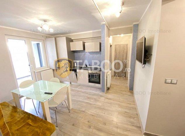 Apartament modern 3 camere cu terasa de inchiriat Sibiu Mihai Viteazu - imaginea 1