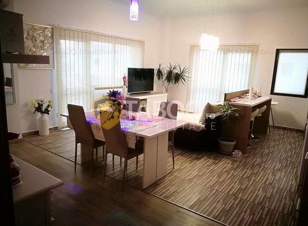 Penthouse modern 4 camere 134 mp de vanzare Sibiu zona Mihai Viteazu - imaginea 1