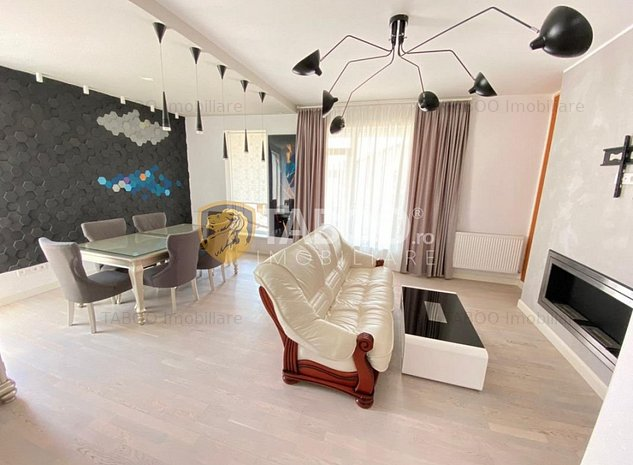 Penthouse modern de vanzare mobilat si utilat 116 mp utili in Sibiu - imaginea 1