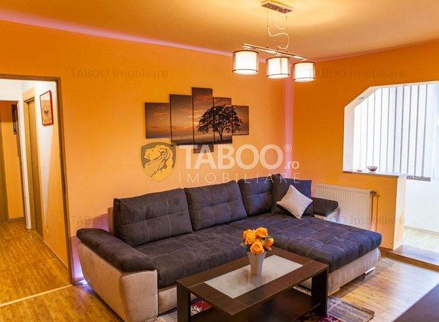 Apartament 3 camere 60 mp in Sibiu zona Mihai Viteazu - imaginea 1