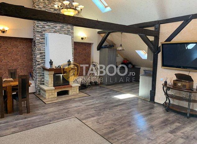 Apartament de inchiriat cu 3 camere la casa in Sibiu zona Centrala - imaginea 1