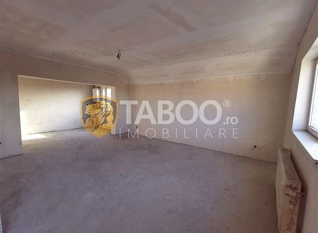 Apartament cu 2 camere si terasa de vanzare in Turnisor Sibiu - imaginea 1
